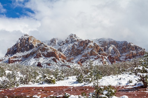Sedona Winter Landscape